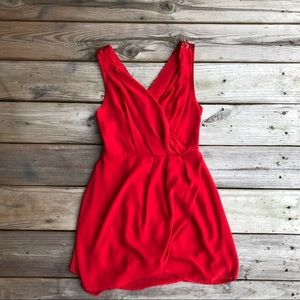 Windsor Red Sequin Homecoming Party Dress